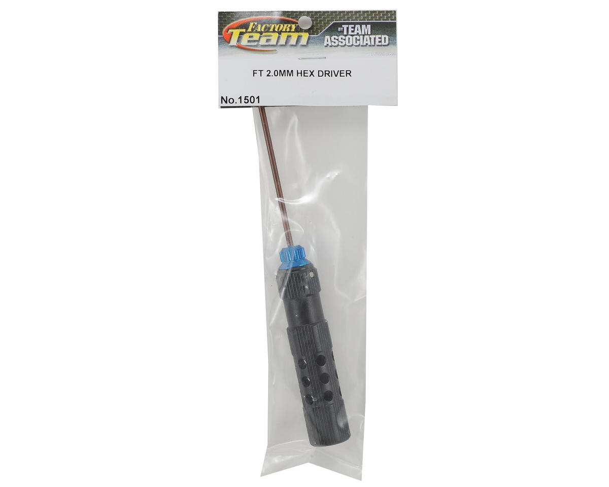 Team Associated Factory Team Hex Driver (2.0mm - Blue)