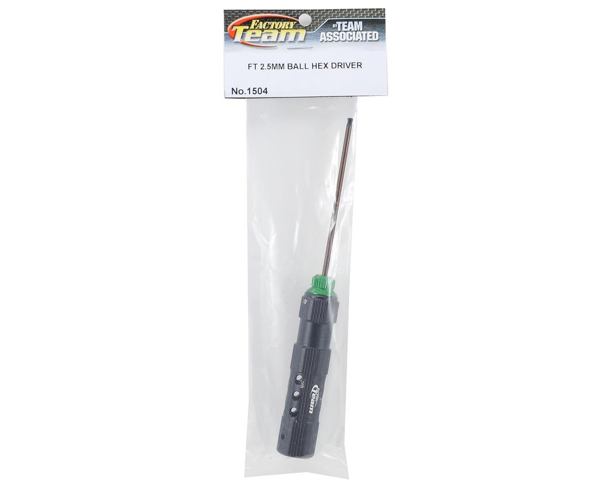Factory Team Ball Hex Driver (2.5mm - Green) by Team Associated