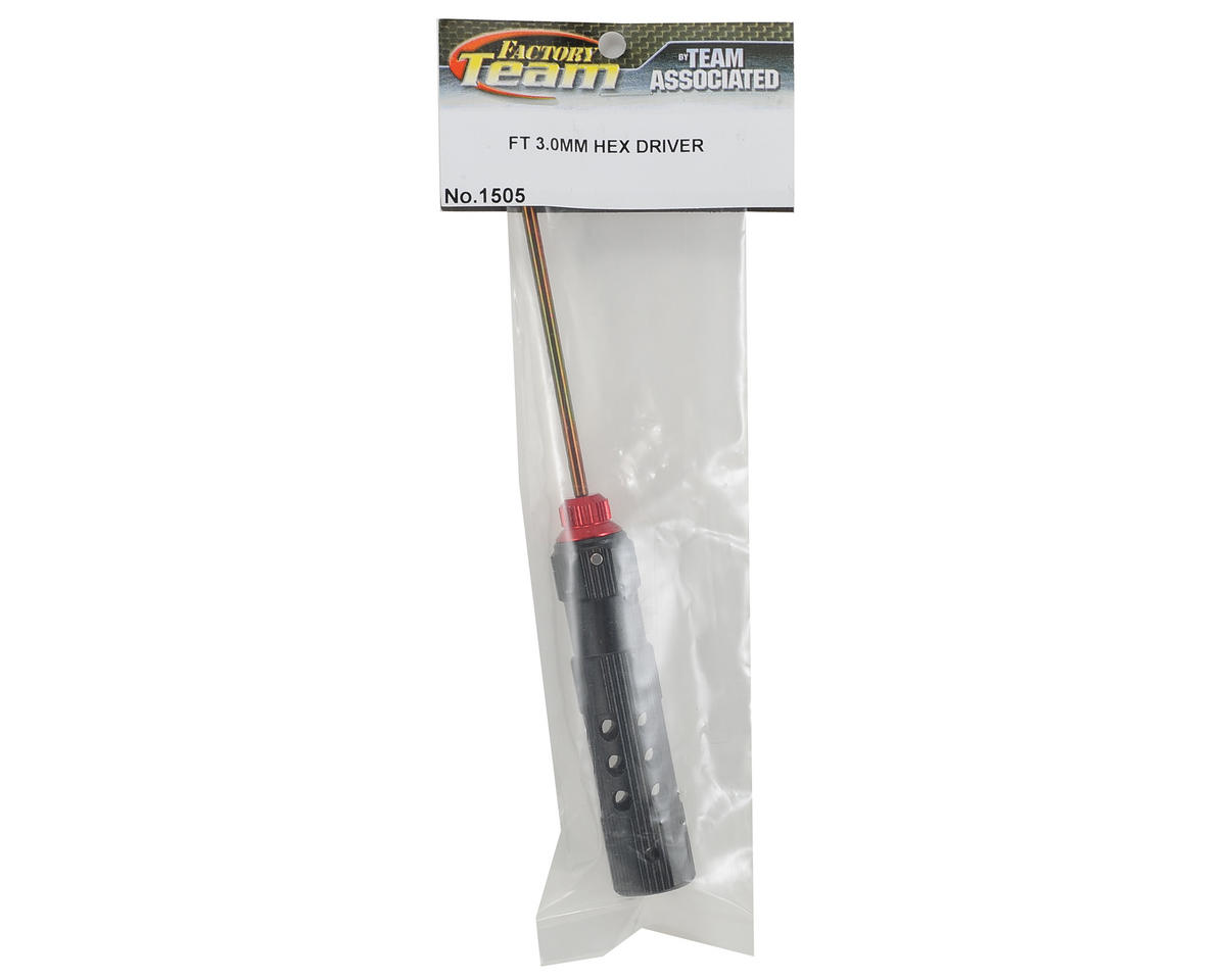 Team Associated Factory Team Hex Driver (3.0mm - Red)
