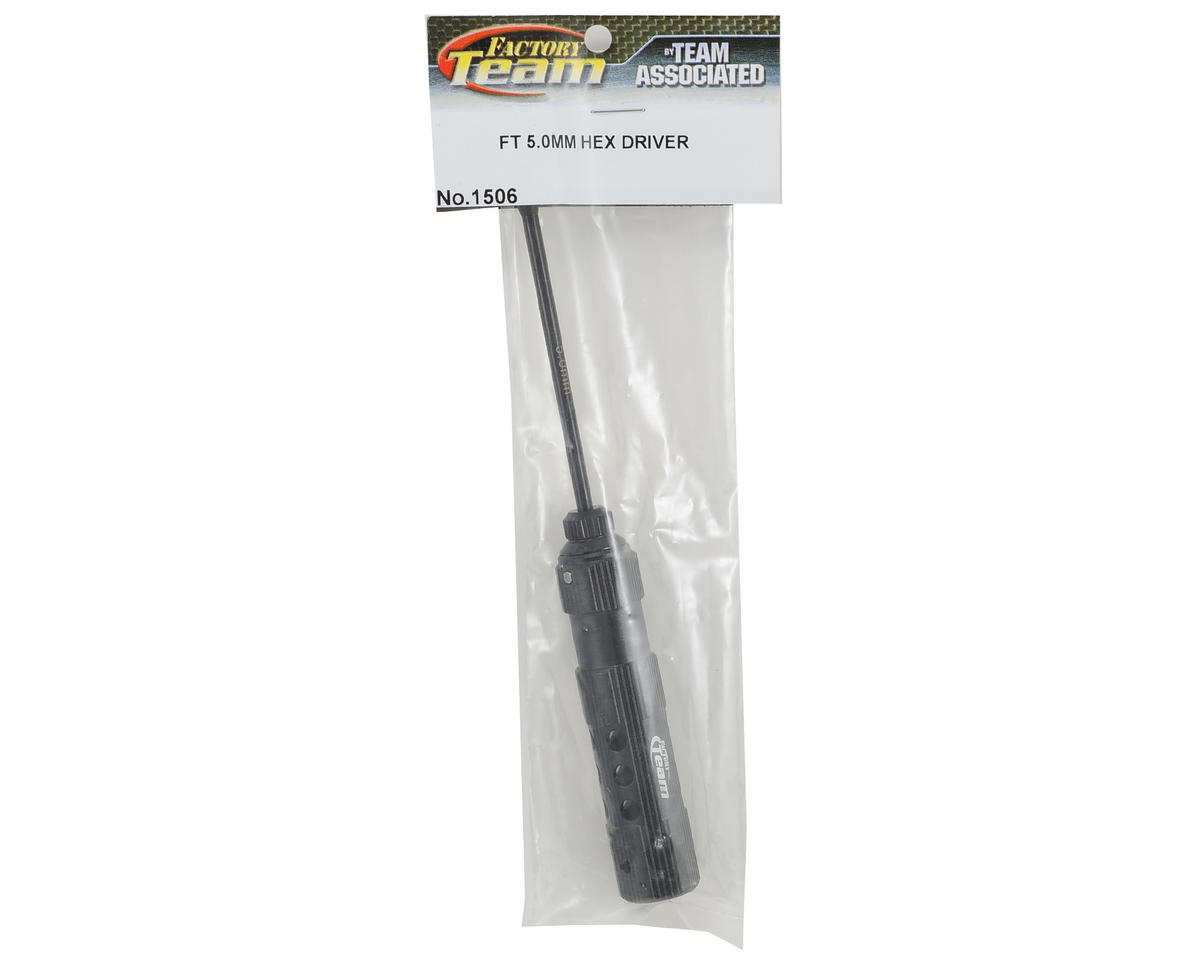 Team Associated Factory Team Hex Driver (5.0mm - Black)