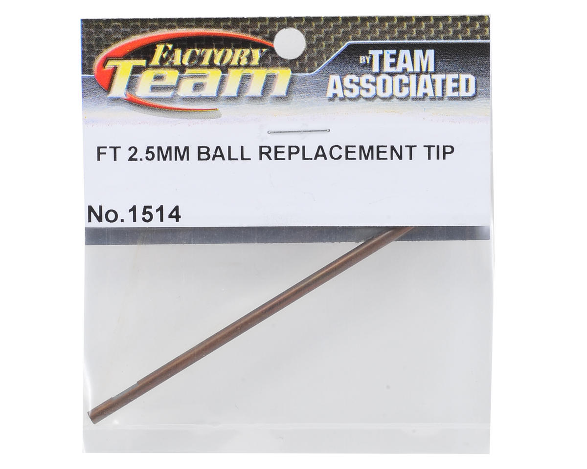 Team Associated Factory Team 2.5 mm Ball Hex Driver Replacement Tip