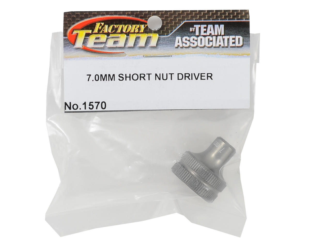 Team Associated Factory Team Short Nut Driver (7mm)