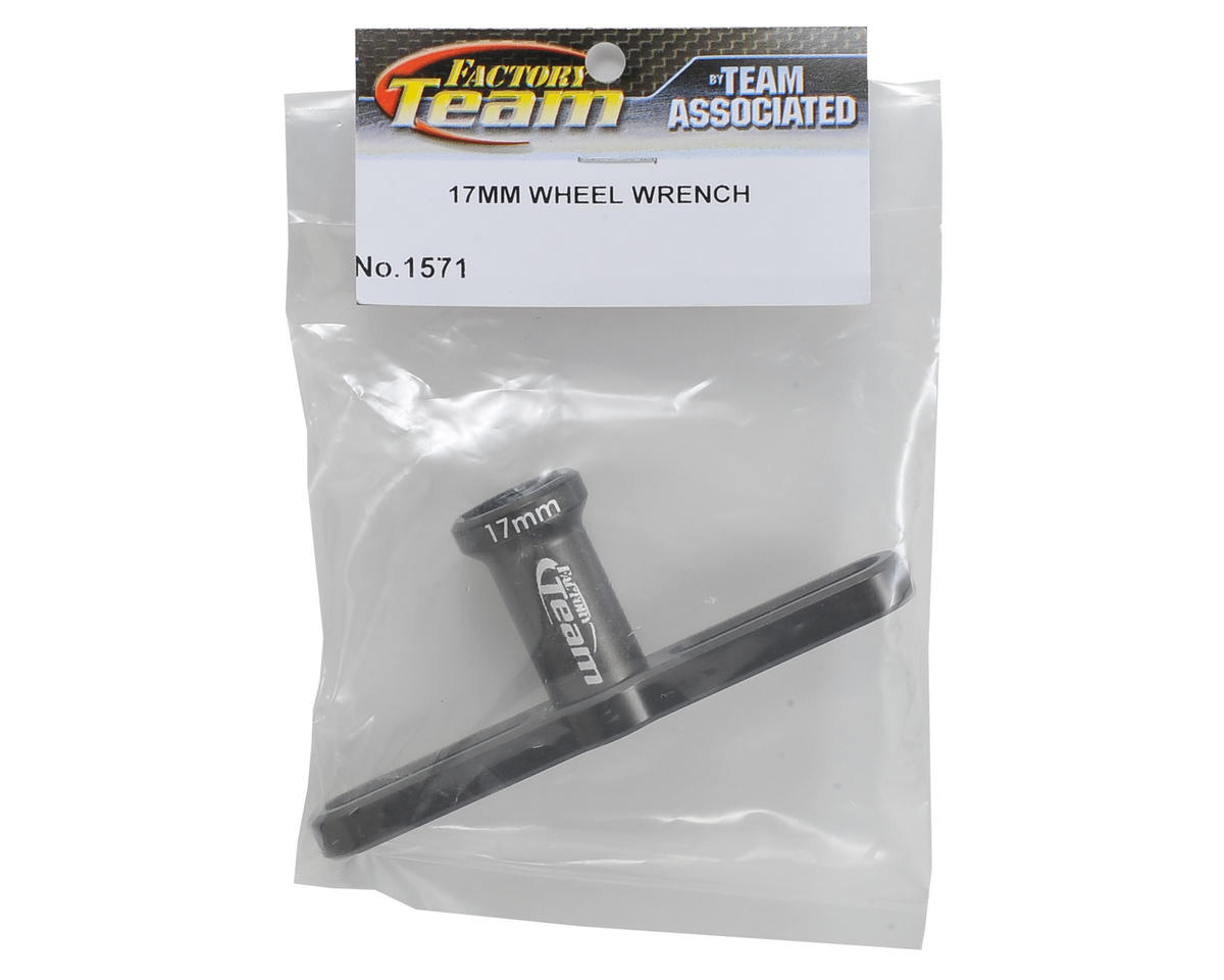 Team Associated 17mm Factory Team Aluminum T-Handle Hex Wheel Wrench