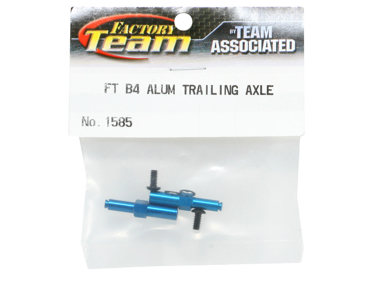 Team Associated Aluminum Front Axle (Blue) (B4)