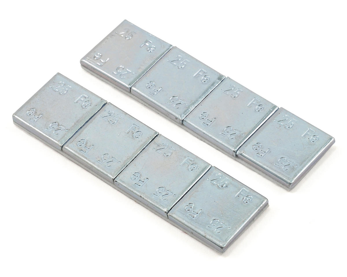 Team Associated Factory 1/4 oz. Chassis Weights (2oz) (X X-60)