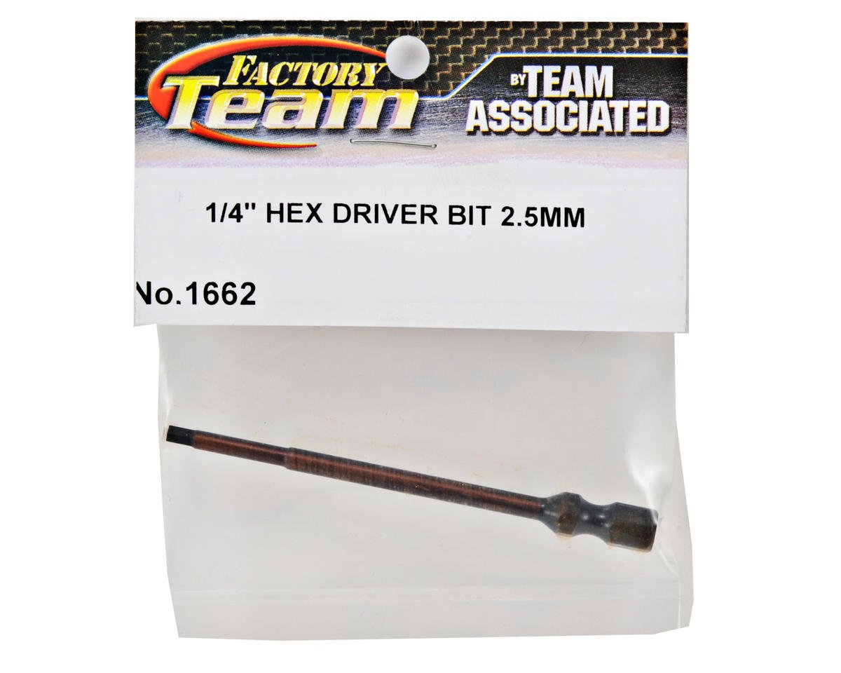 Team Associated Factory Team Hex Driver Bit (2.5mm)