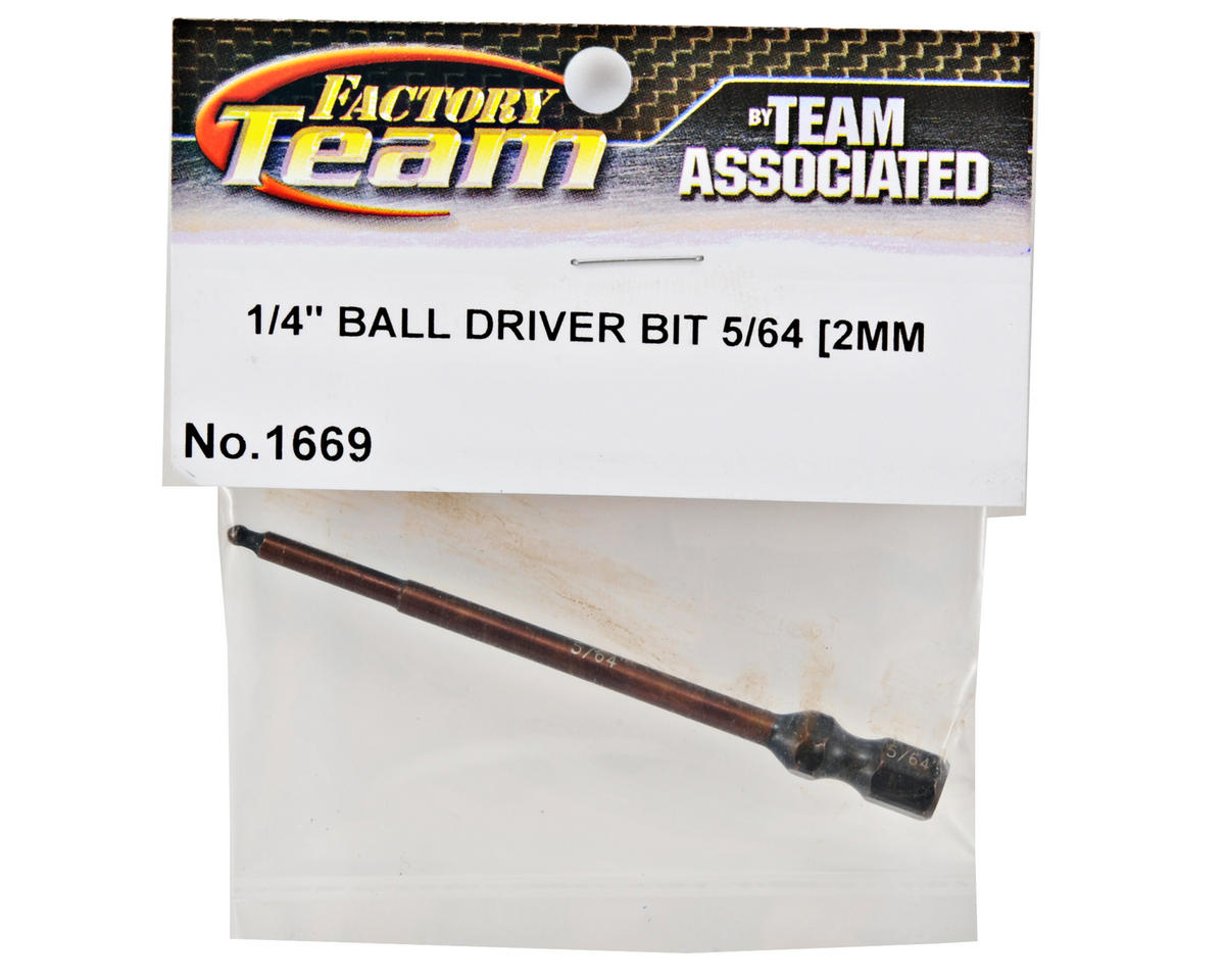 "Team Associated Factory Team Ball Hex Driver Bit (5/64"")"