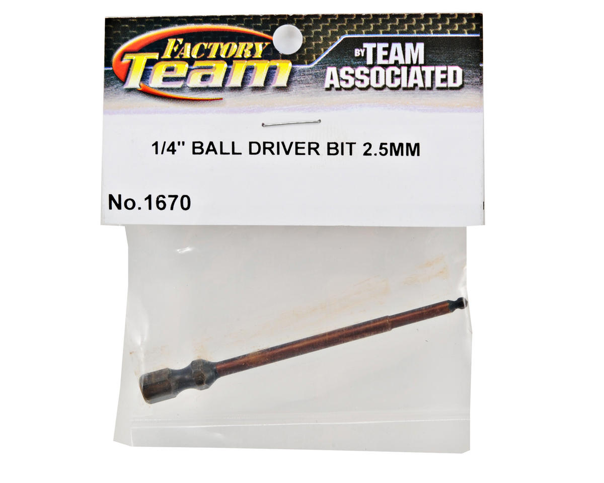 "Factory Team Ball Hex Driver Bit (3/32"") by Team Associated"