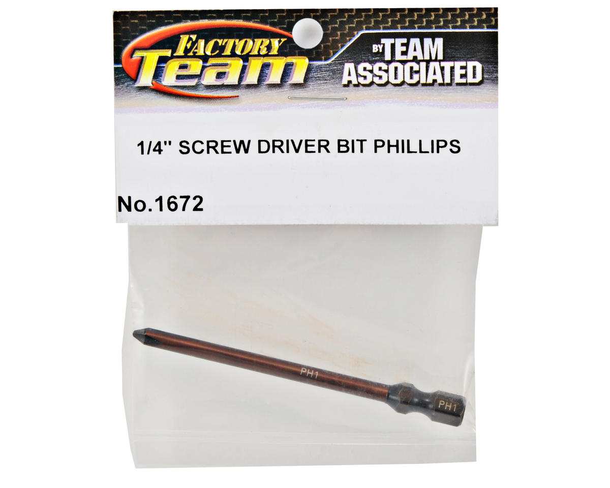 Team Associated Factory Team Philips Head Screwdriver Bit