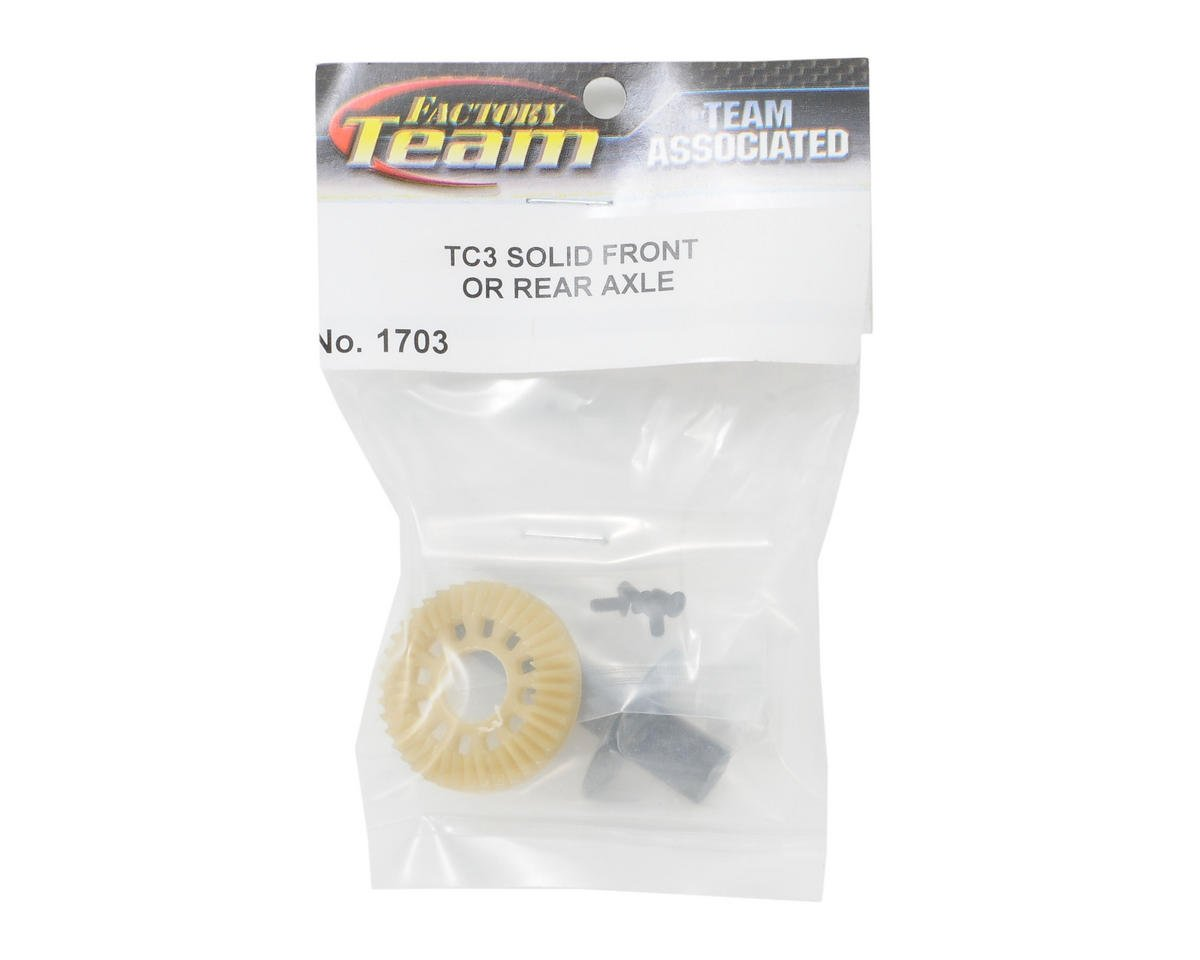 Factory Team Solid Front Axle by Team Associated