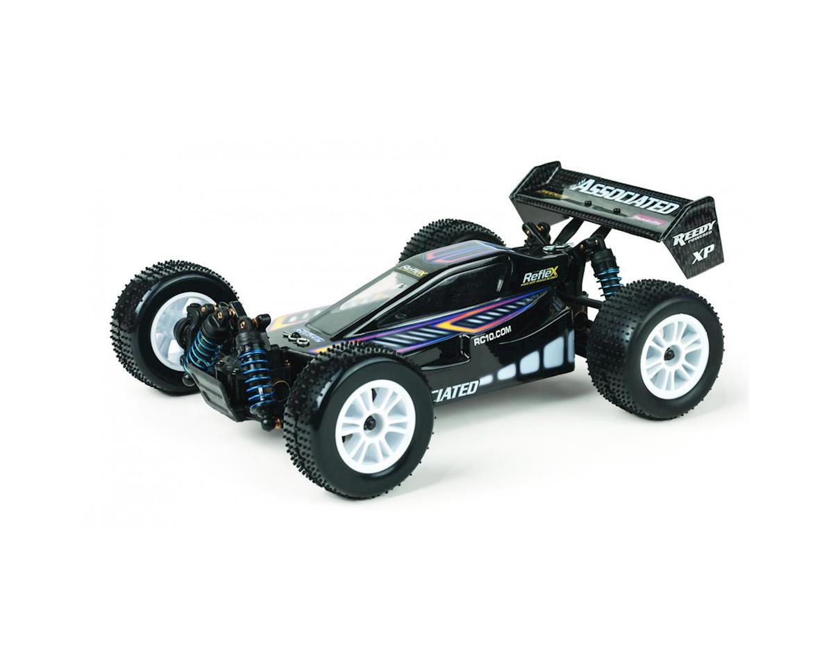 Reflex 1:18 4WD Off Road Buggy RTR Black by Team Associated