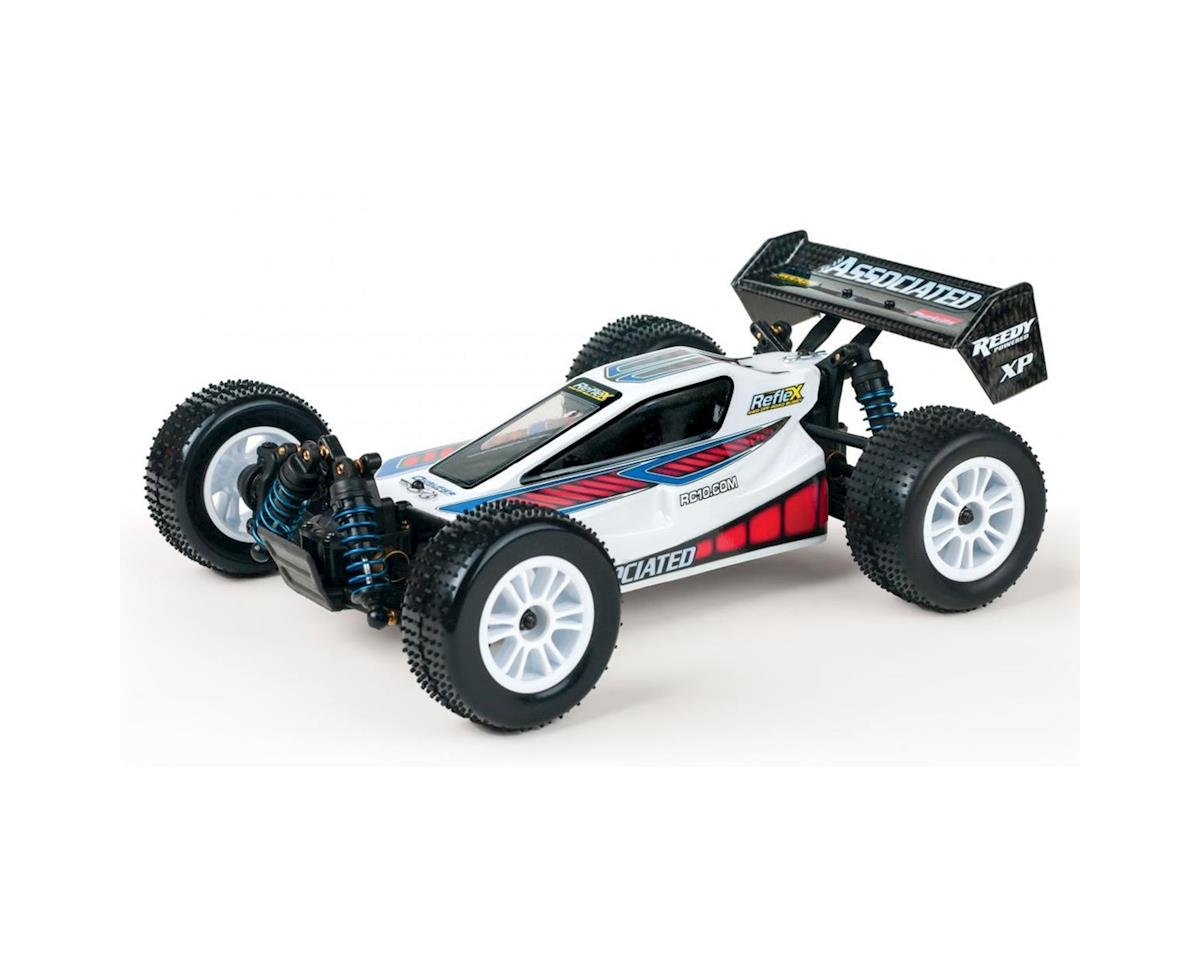 Reflex 1:18 4WD Off Road Buggy RTR White by Team Associated
