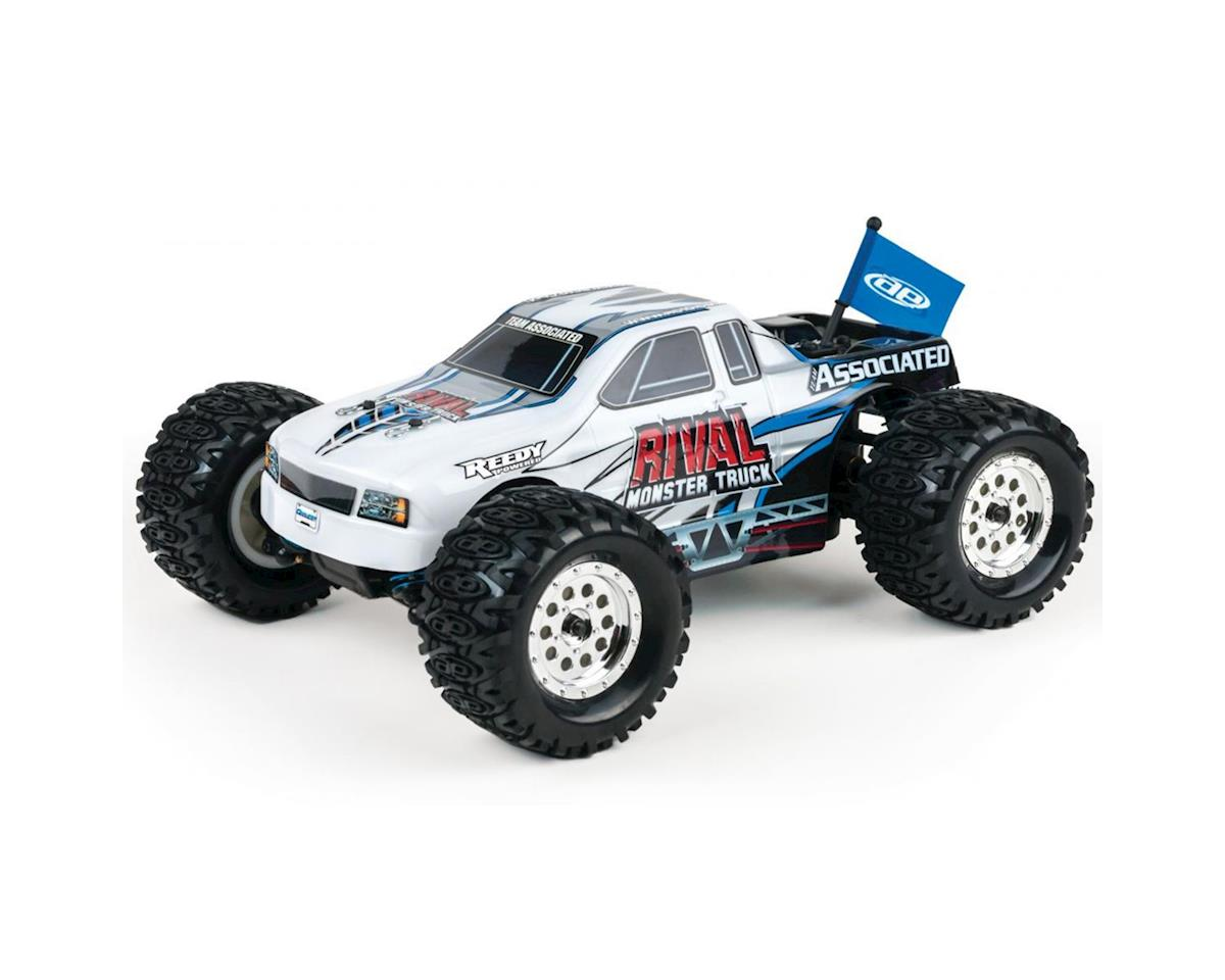 Team Associated Rival 1:18 4WD Monster Truck RTR White
