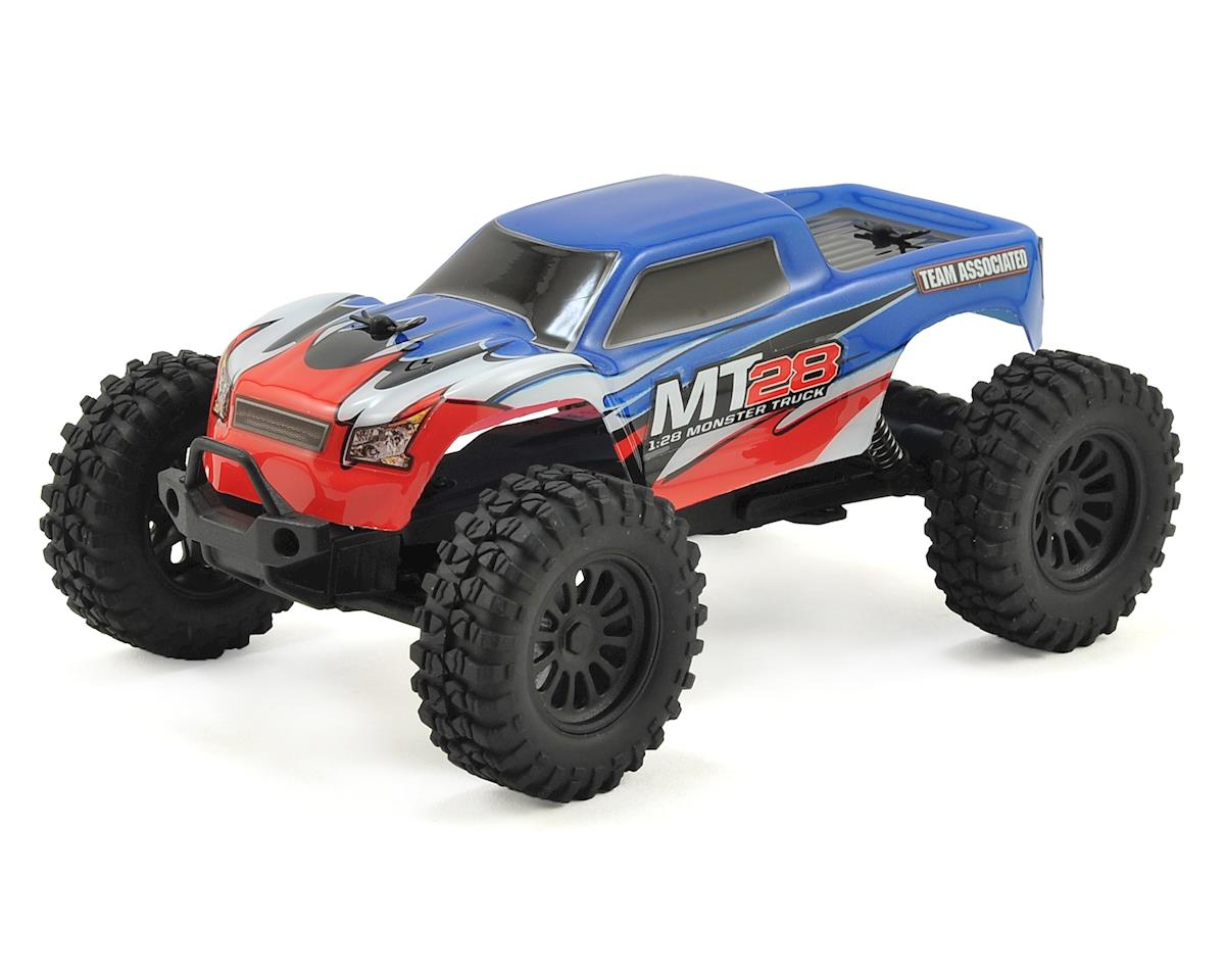 Team Associated MT28 1/28 Scale RTR 2wd Monster Truck
