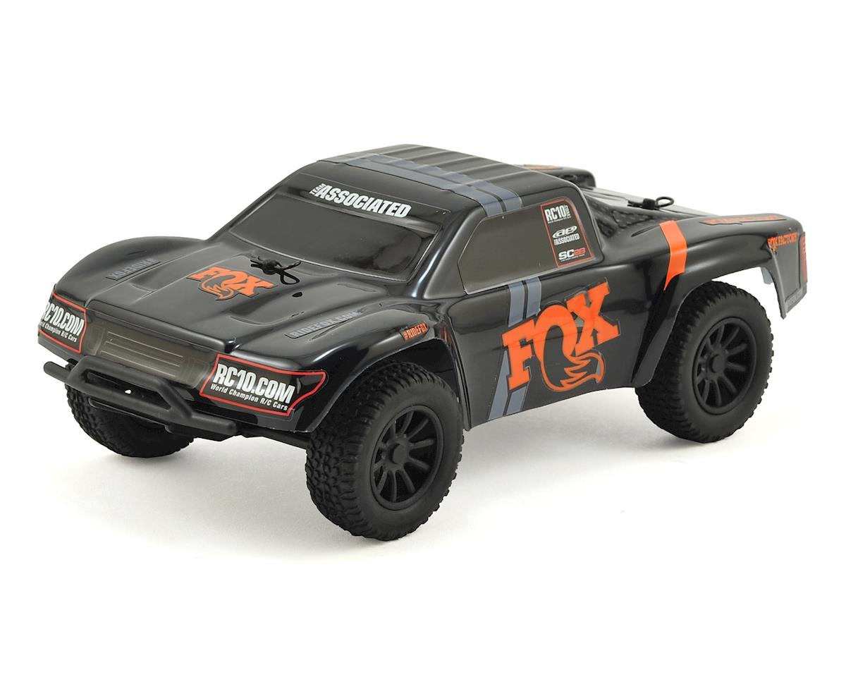 SC28 FOX Edition 1/28 Scale RTR 2wd Short Course Truck by Team Associated