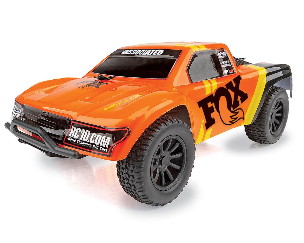 Team Associated SC28 FOX Factory Edition 1/28 Scale RTR 2wd Short Course Truck ASC20157
