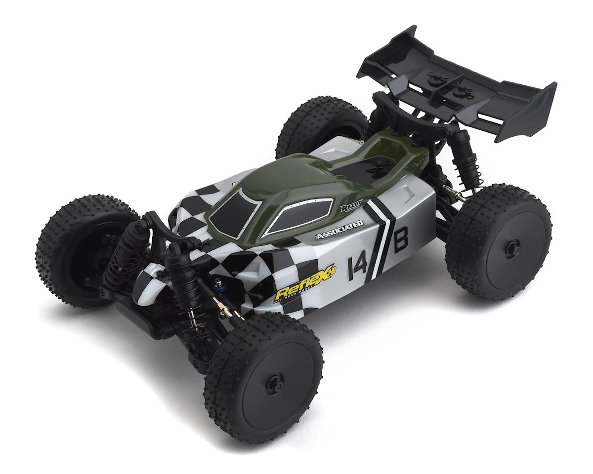 Reflex 14B RTR 1/14 4WD Buggy Combo