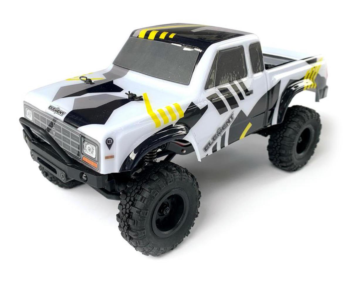 Element RC Enduro24 Sendero 1/24 4WD RTR Scale Mini Trail Truck (Black/Yellow) ASC20180