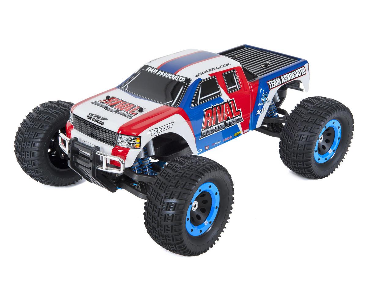 Team ociated Rival RTR 1/8 Brushless Monster Truck Combo ... on