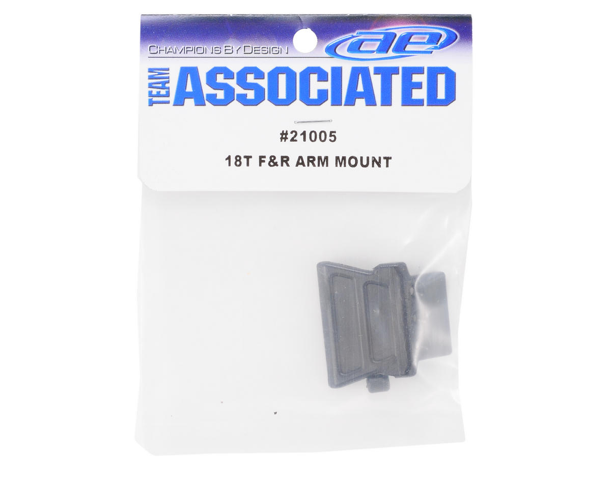 Team Associated Front & Rear Suspension Arm Mount: 18B/18MT/18T/18R