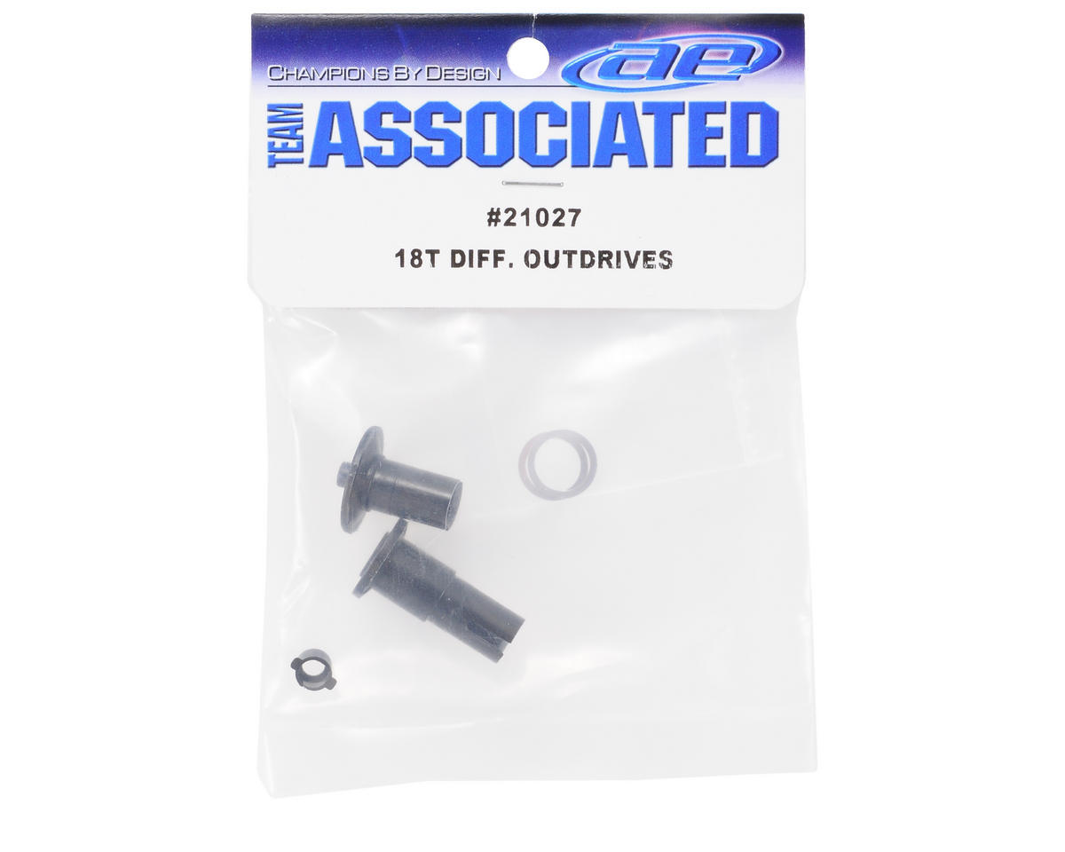 Team Associated Differential Outdrives: 18B/18MT/18T/18R
