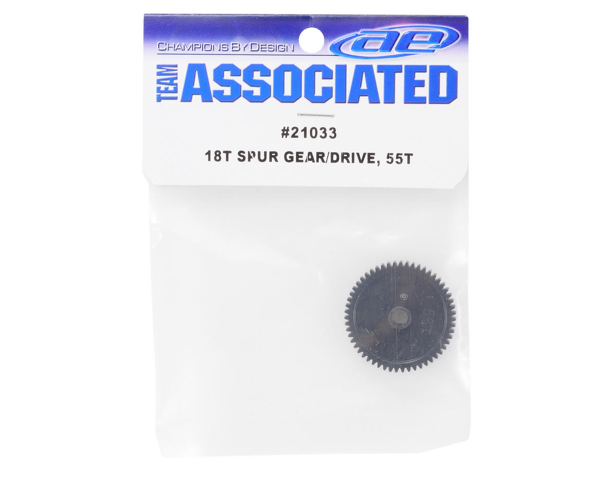 Team Associated 55T Spur Gear: 18B/18MT/18T/18R