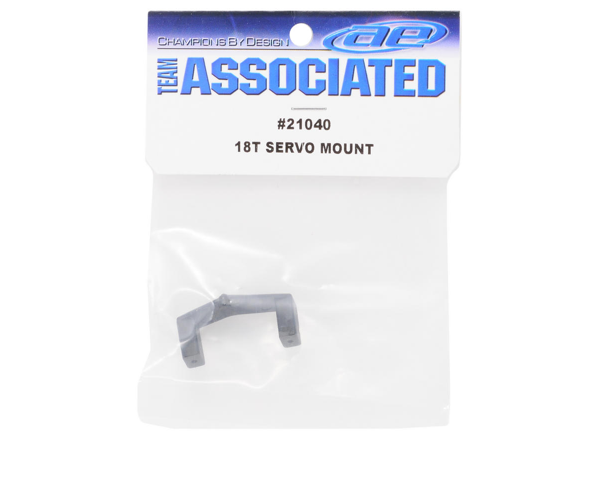 Servo Mount: 18B/18MT/18T/18R by Team Associated