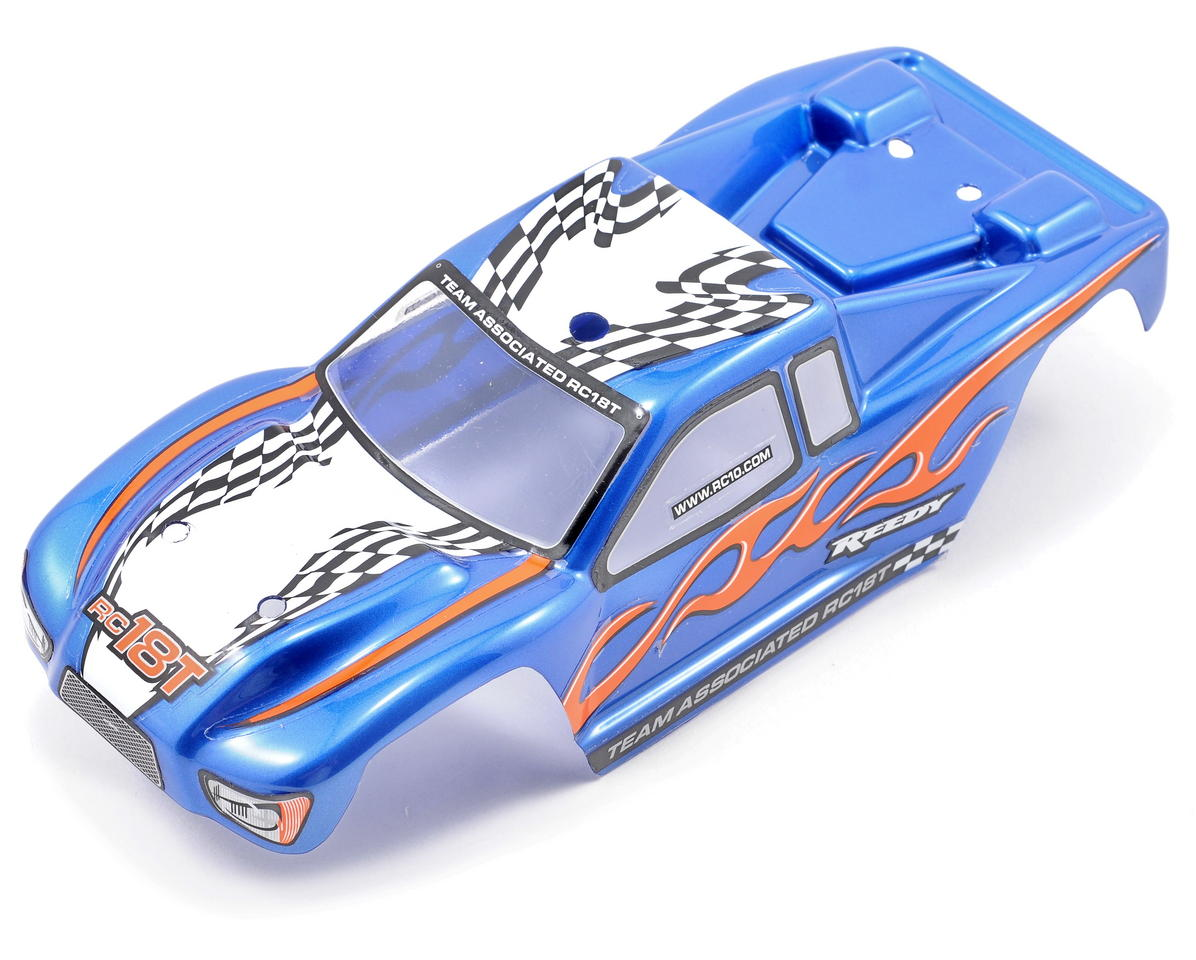 Team Associated Pre-Painted Body (Blue)