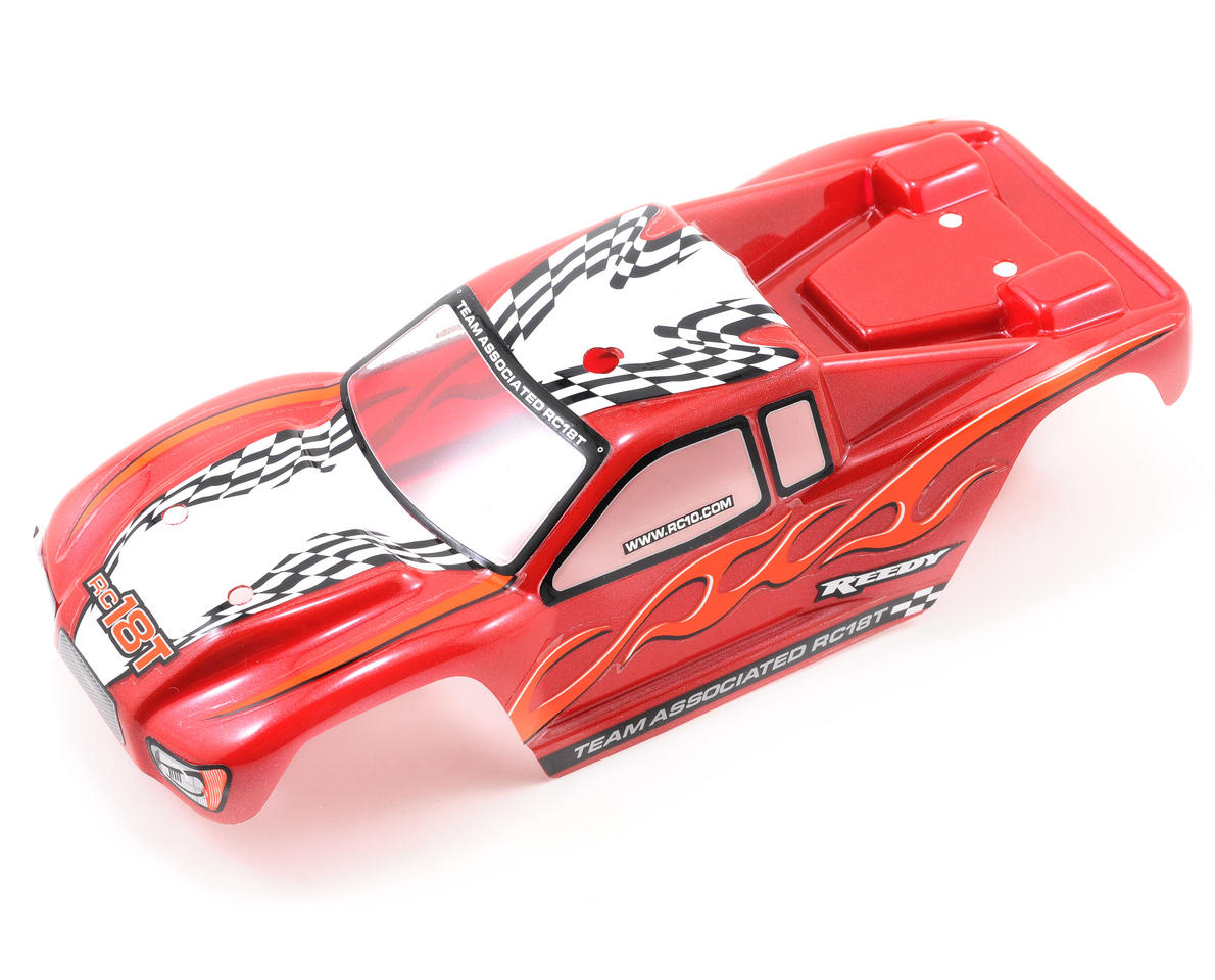 Team Associated Pre-Painted Body (Red)