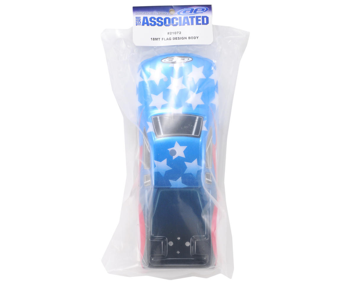 Team Associated Pre-Painted Body (Flag Design)