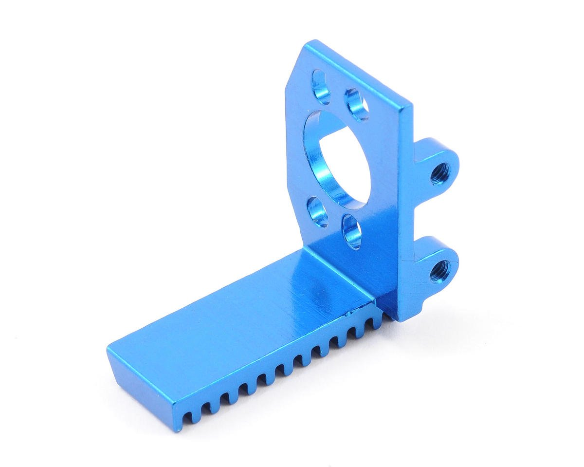 Team Associated RC18R Factory Motor Mount (Blue)