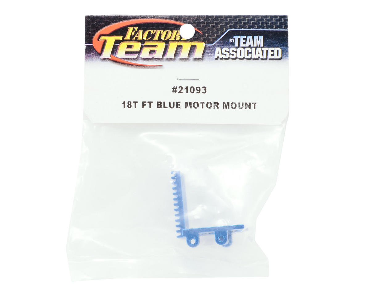 Team Associated Factory Team Motor Mount (Blue)