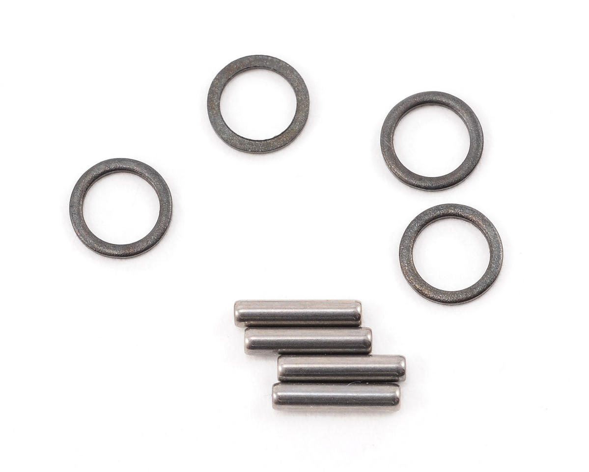 Team Associated RC18R Niteline Stub Axle Pins and Spacers (4)