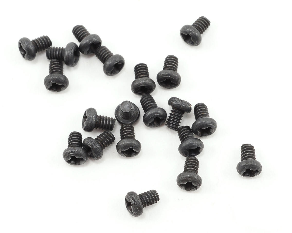 2x3mm Button Head Phillips Screws (20) by Team Associated