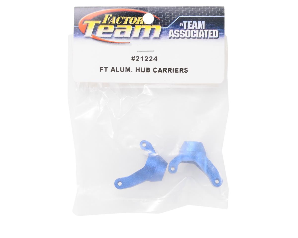 Team Associated Factory Team Aluminum Hub Carriers (Blue) (2)