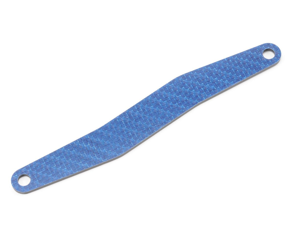 Team Associated RC18B Factory Graphite Battery Strap (Blue)
