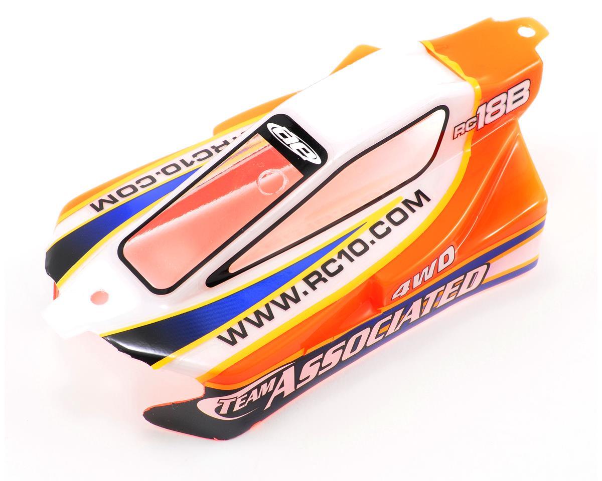 Team Associated Pre-Painted Body (Orange)