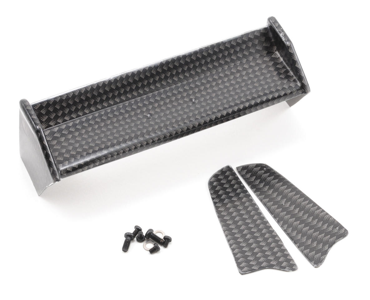 Team Associated Graphite Pattern Wing & Dirt Deflectors