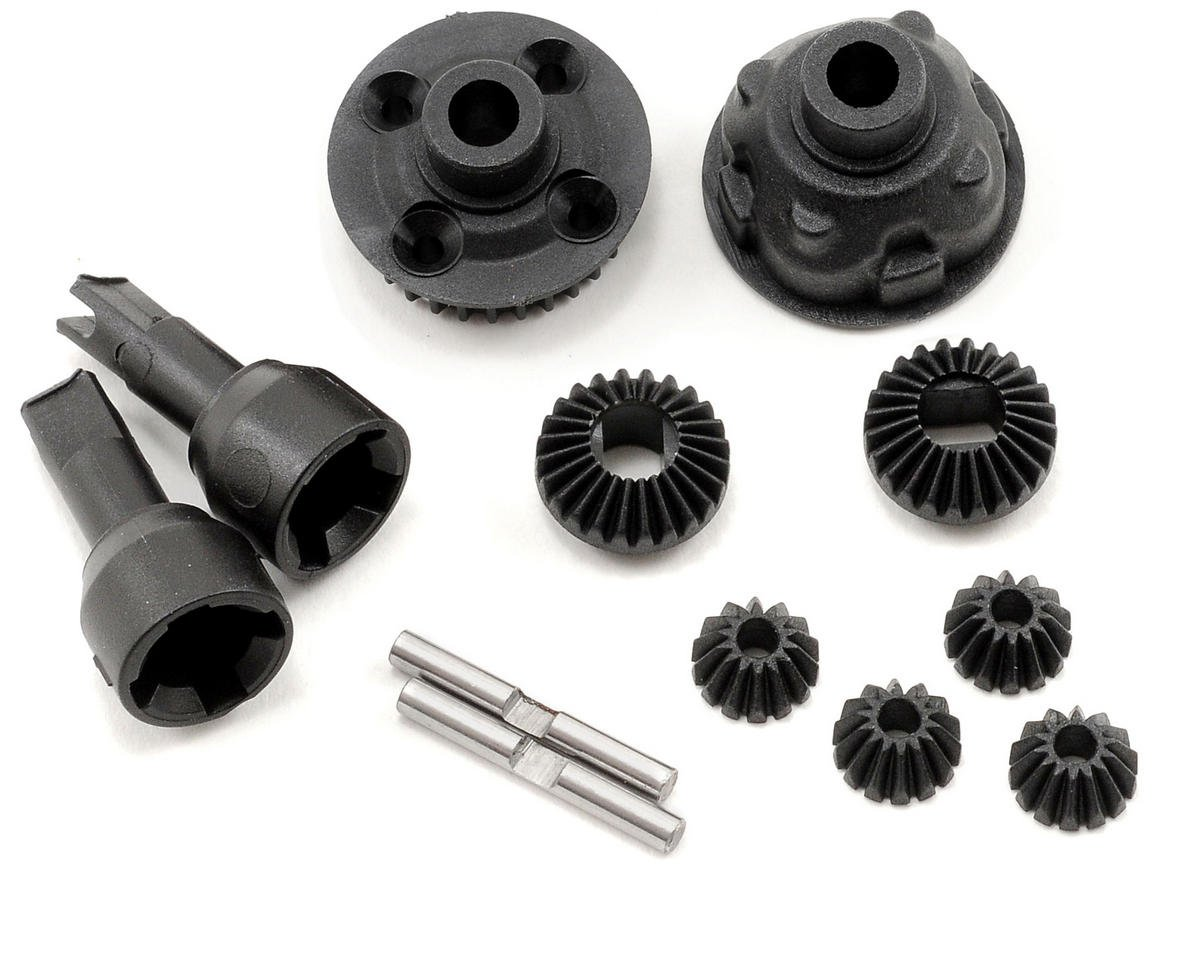 Team Associated SC18 Complete Front Gear Differential