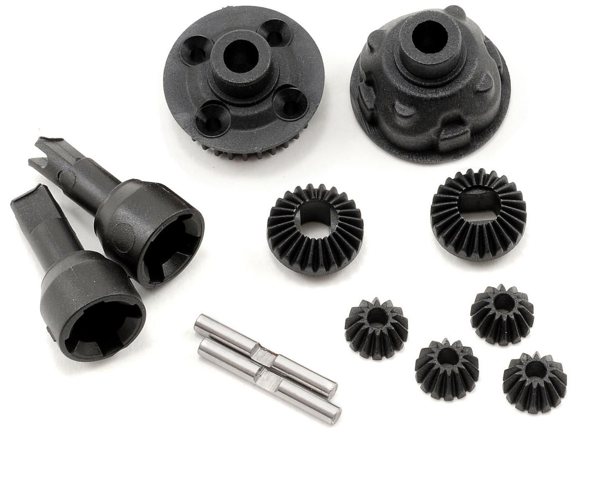 Team Associated RC18B2 Complete Front Gear Differential