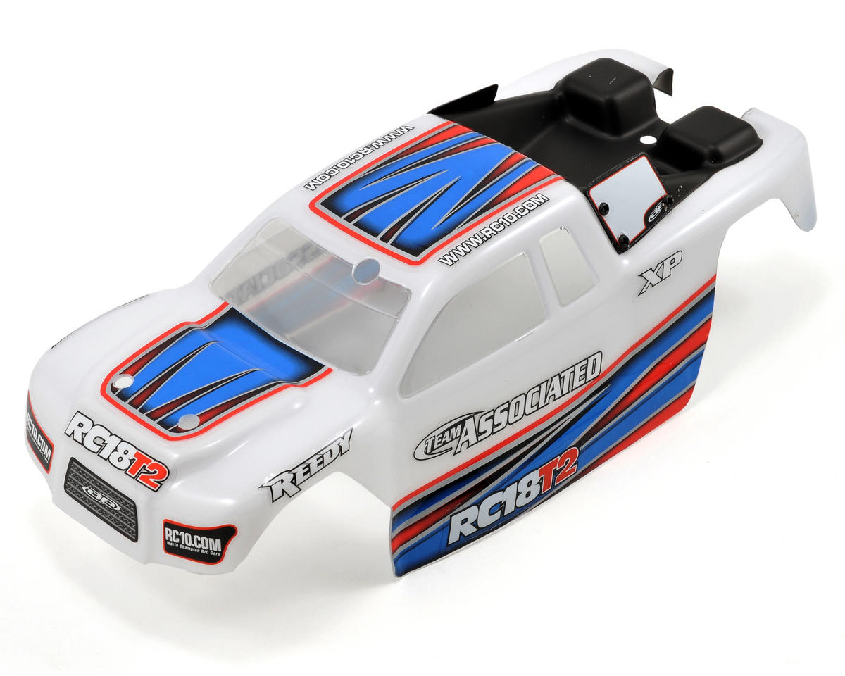 Team Associated 18T2 RTR Body (White)