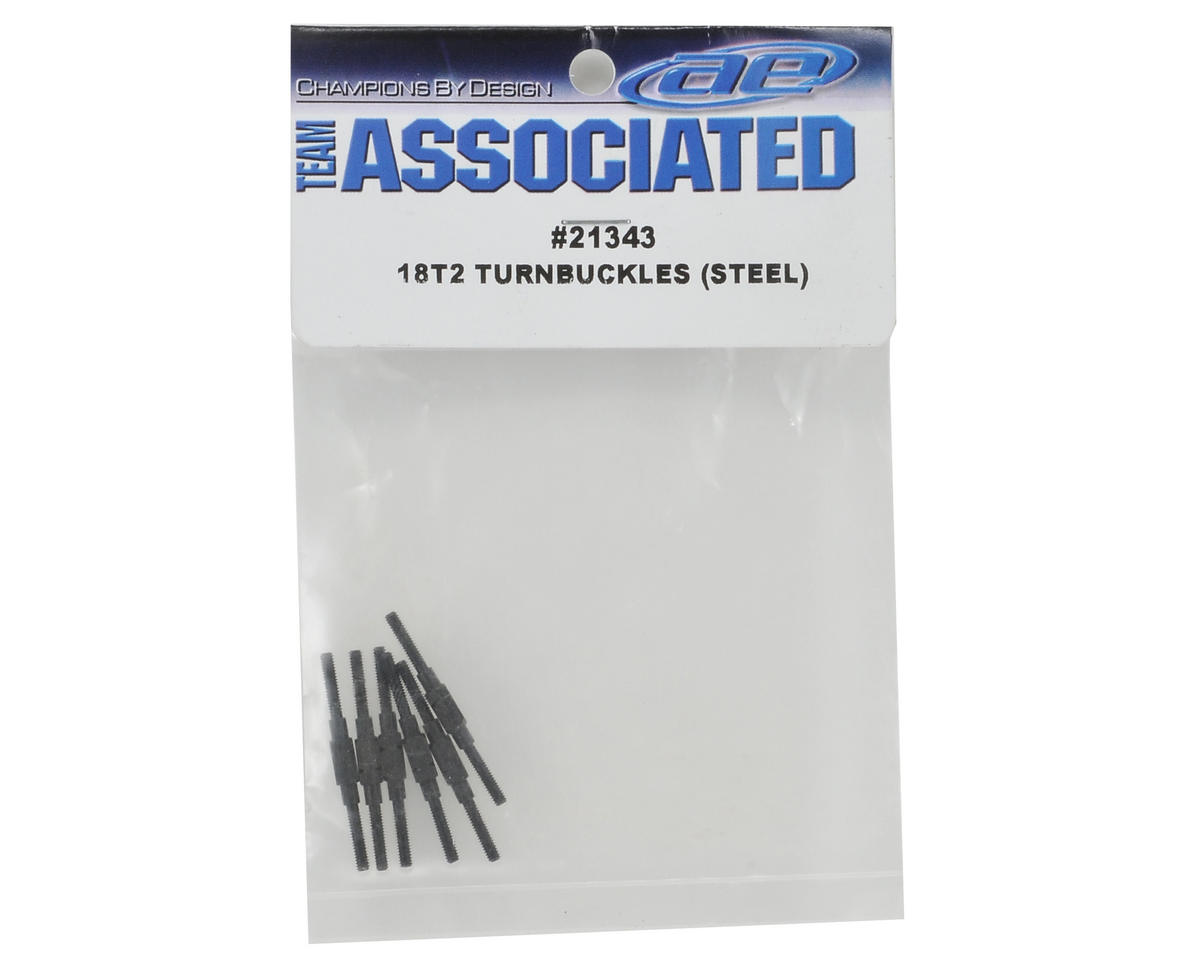 Team Associated Steel Turnbuckle Set (6)