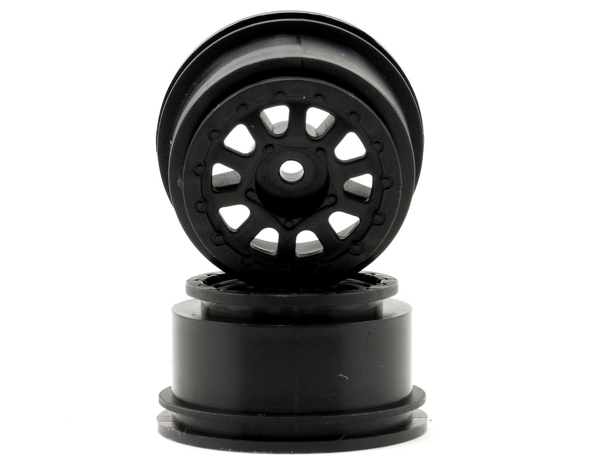 Team Associated SC18 Wheel Set (2) (Black)