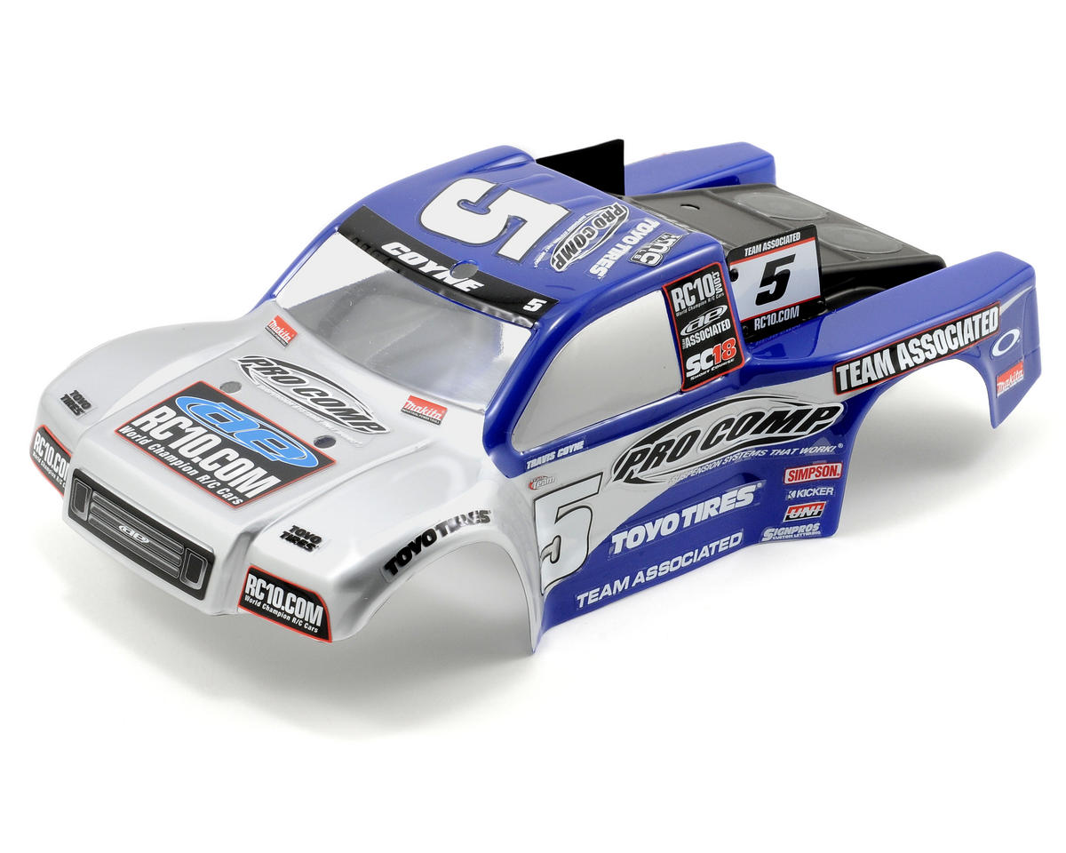 Team associated pro comp body sc18 asc21360 cars for Perfect scale pro reviews