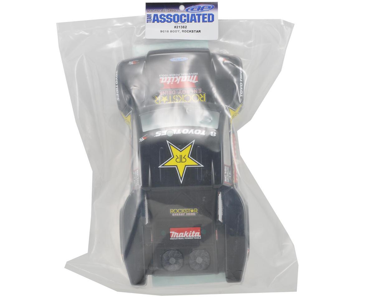 """Team Associated """"09 Rockstar-Makita"""" Body (SC18)"""