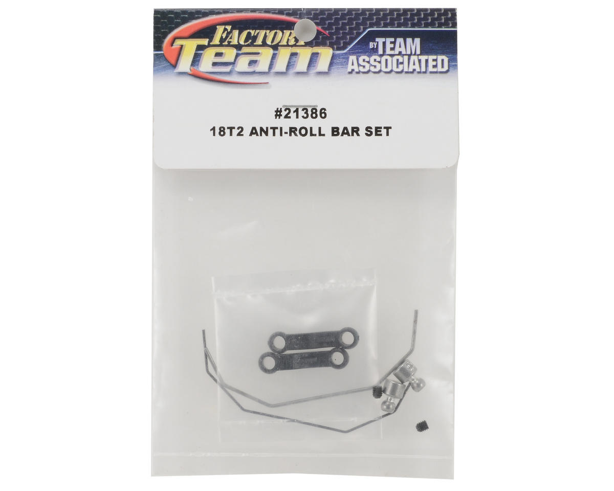 Team Associated Factory Team Anti-roll Bar Set
