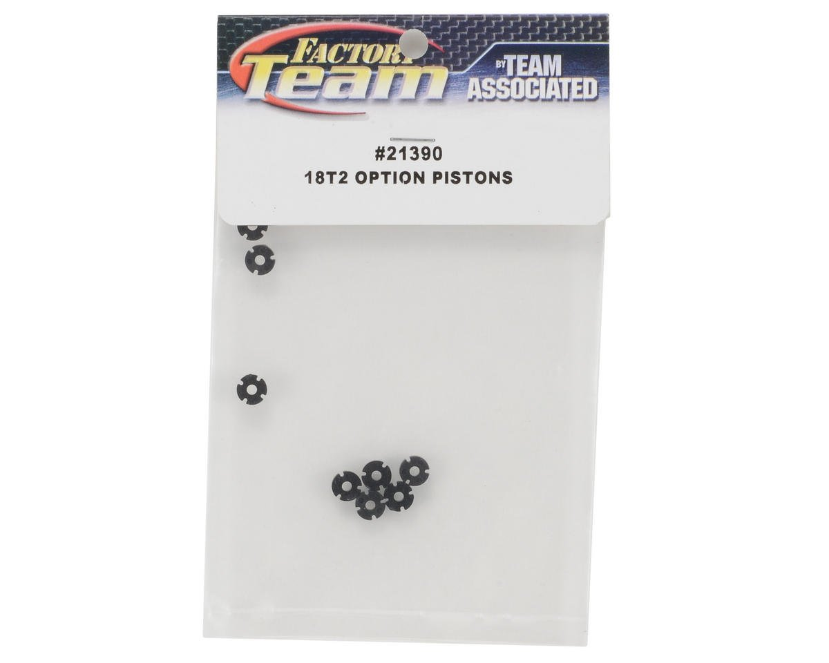 Team Associated Factory Team Shock Piston Set (8)