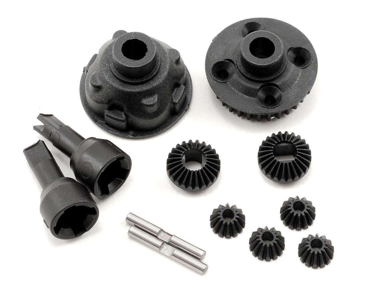 Team Associated Complete Rear Gear Differential