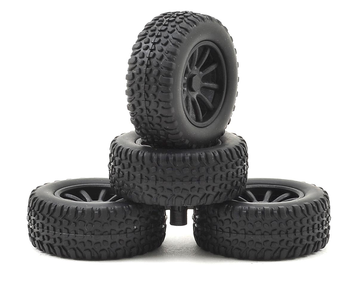 Team Associated SC28 Pre-Mounted Tires