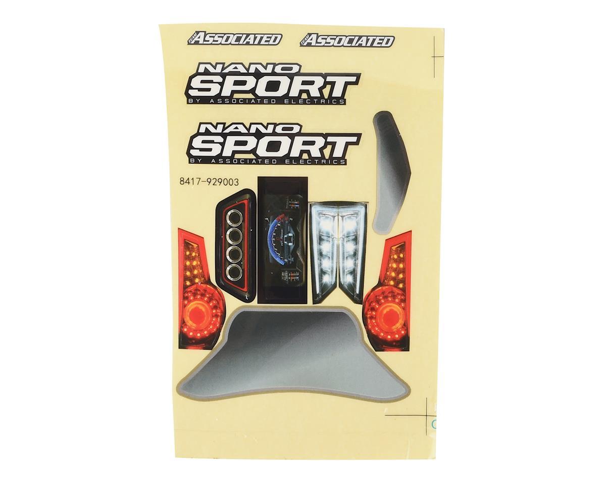 Team Associated NanoSport Body (Clear)